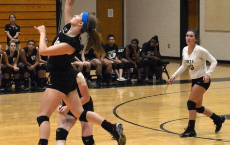 JV Volleyball Loses First Match of Season
