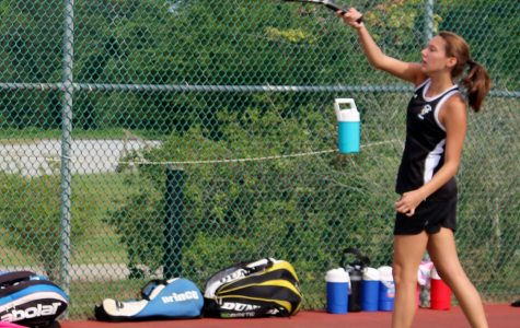 Yellow Jackets Edge Eagles, 4-3, in Girl's Tennis Action