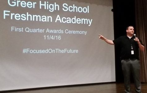 Freshmen Students Honored for First Quarter Successes