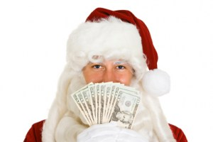 Christmas Lists Topped by Cold, Hard Cash