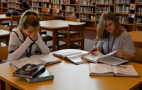 Students Stress Over Final Exams, End of Course Exams