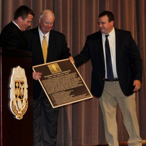 Former Greer High School Principal Marion Waters Honored