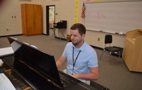 Mr. Gunter the new Chorus Teacher