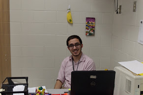 "Staff Spotlight: Greer Says ""Hola"" to Mr. Goubert"