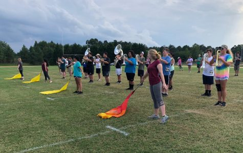 GHS Band Prepares for Upcoming Spartanburg Game