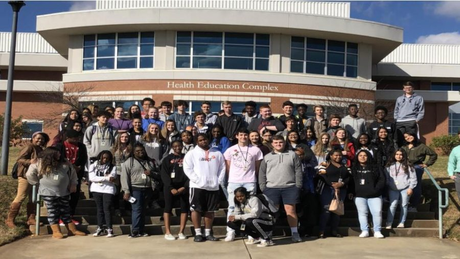 Greer High Visits USC Upstate
