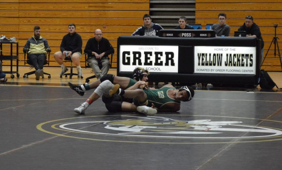 Wrestling Jackets Defend the Hive