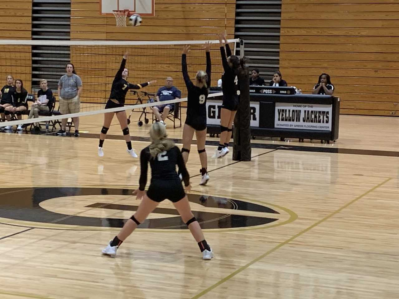 Greer wins Volleyball game against Union