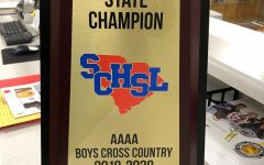 Greer High Cross Country 4A State Champs